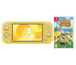 Switch Lite Yellow & Animal Crossing: New Horizons Bundle