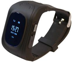 Intigo P1 Kids Smartwatch - Black, Rubber Strap