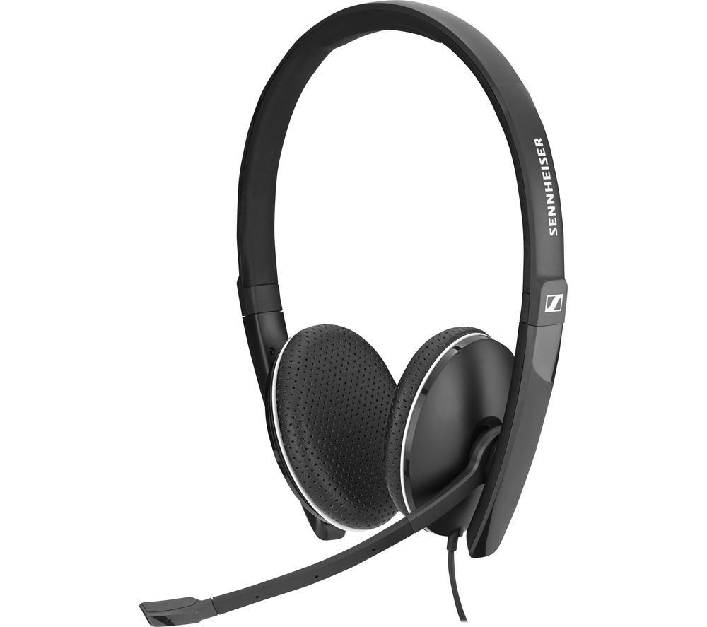 SENNHEISER SC 165 USB-C Headset - Black