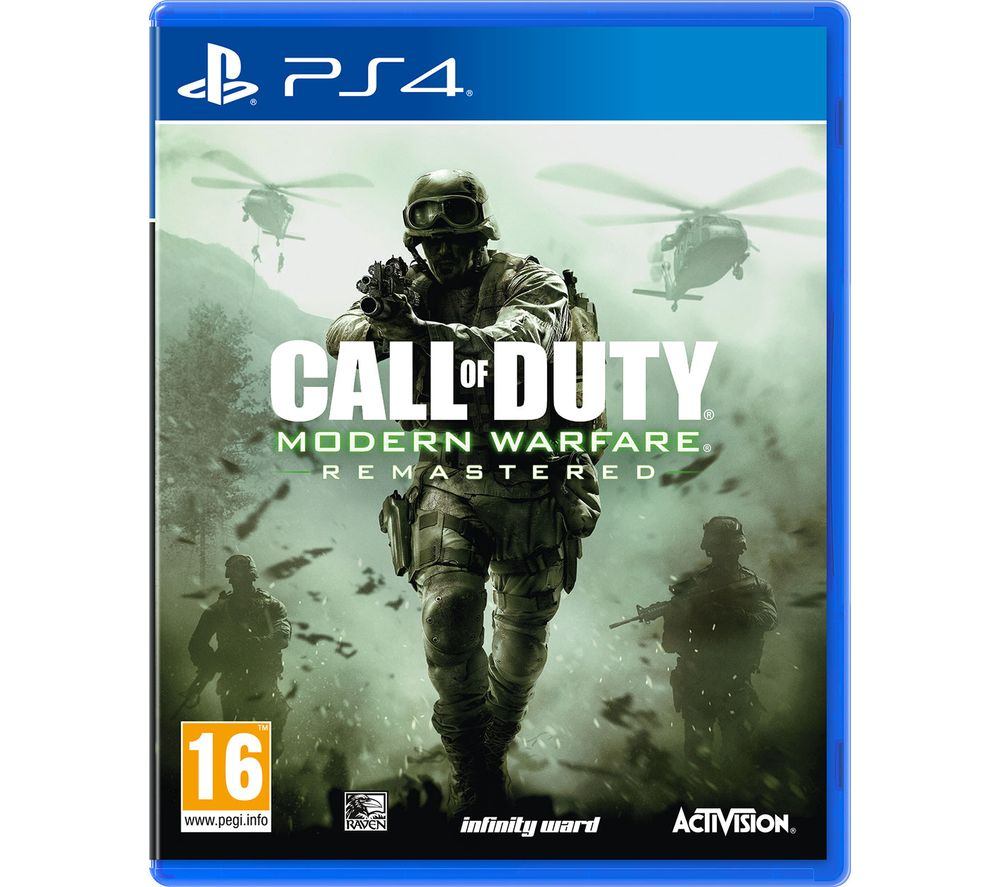 Image of PS4 Call of Duty: Modern Warfare Remastered