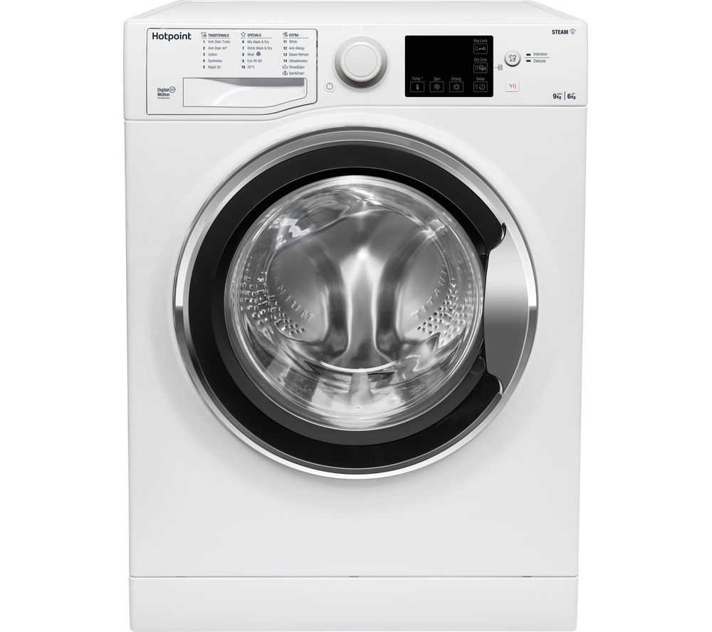 HOTPOINT Core RDGR 9662 WS UK N 9 kg Washer Dryer - White, White