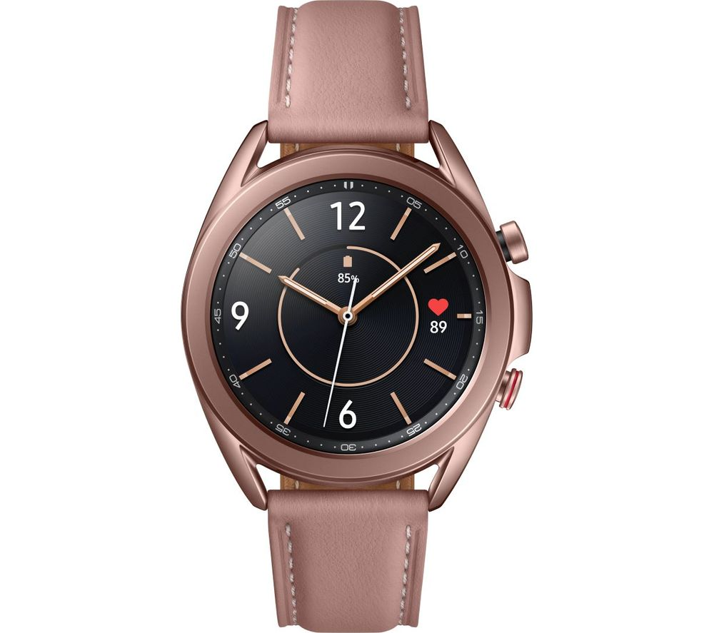 SAMSUNG Galaxy Watch3 4G - Mystic Bronze, 41 mm
