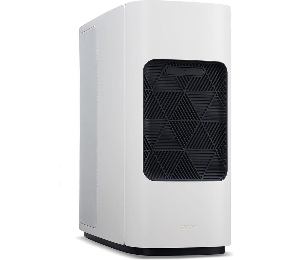 ACER ConceptD CM500-51A Desktop PC - Intel® Core™ i7, 1 TB HDD & 1 TB SSD, White