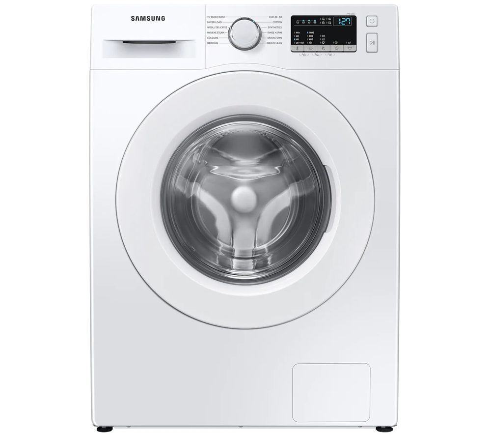SAMSUNG WW80T4040EE/EU 8 kg 1400 Spin Washing Machine - White, White