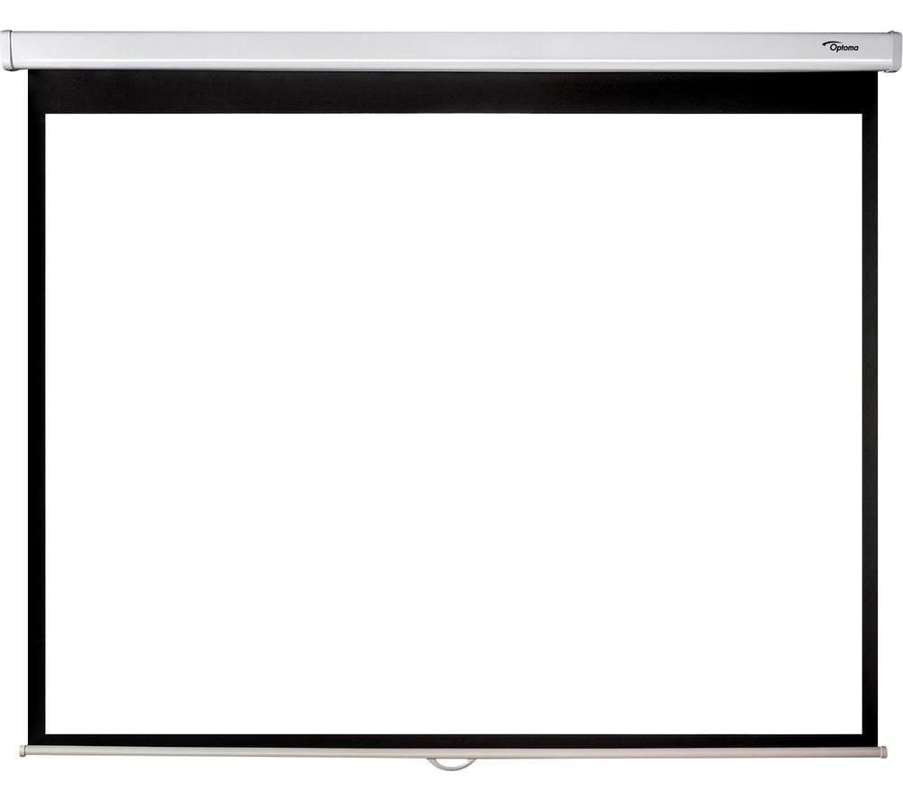 "OPTOMA DP-3084PWC 84"" Portable Pull Down Projector Screen"
