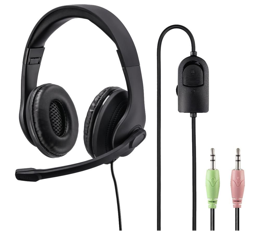Image of HAMA HS-P200 Headset - Black, Black