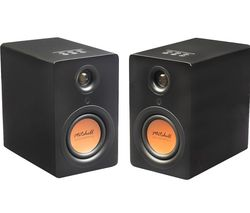Acoustics uStream One Bluetooth Bookshelf Speakers - Black