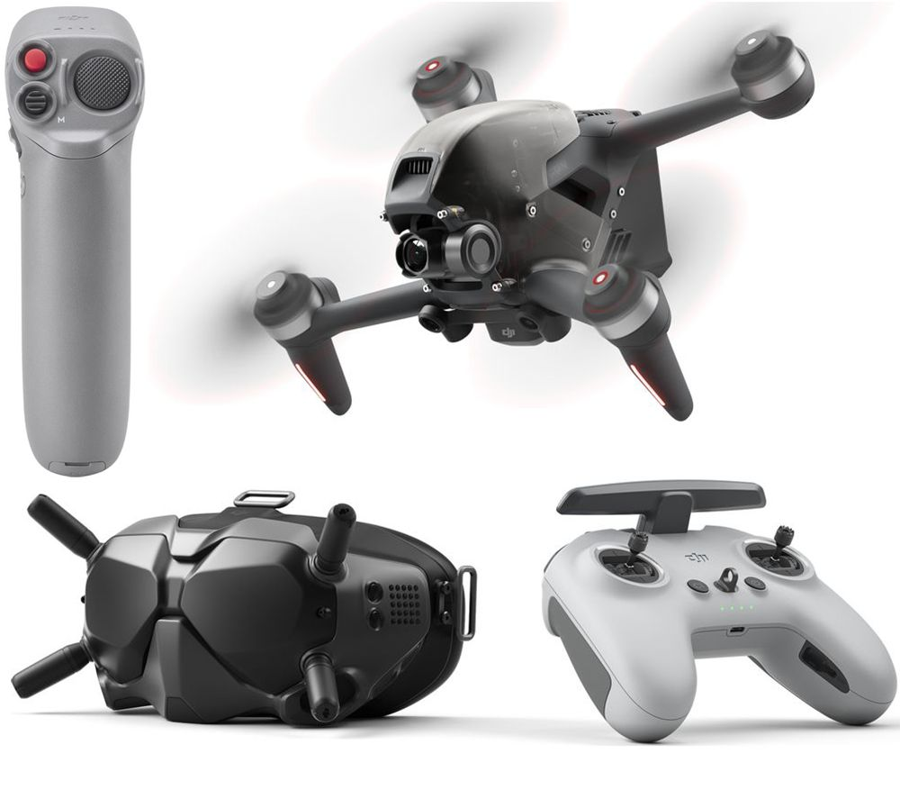 DJI FPV Drone Combo & Motion Controller Bundle - Black & Space Grey, Black