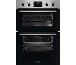 FanCook ZKHNL3X1 Electric Double Oven - Stainless Steel