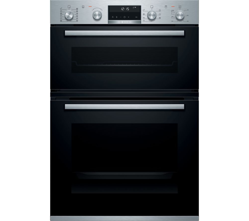 BOSCH Serie 6 MBA5785S6B Electric Double Smart Oven - Stainless Steel