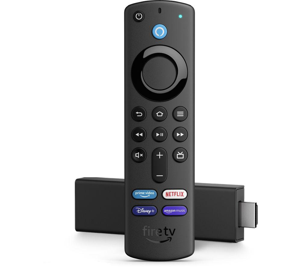 AMAZON Fire TV Stick 4K Ultra HD with Alexa Voice Remote (2021)