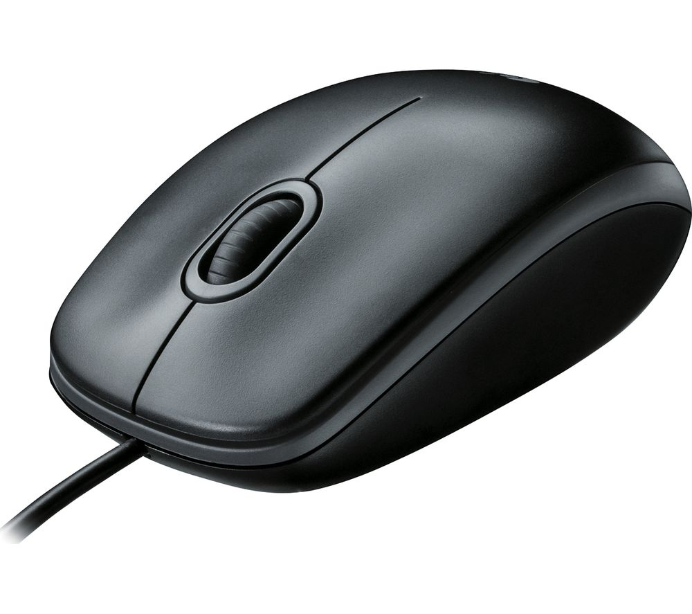 Image of LOGITECH B100 Optical Mouse, Black