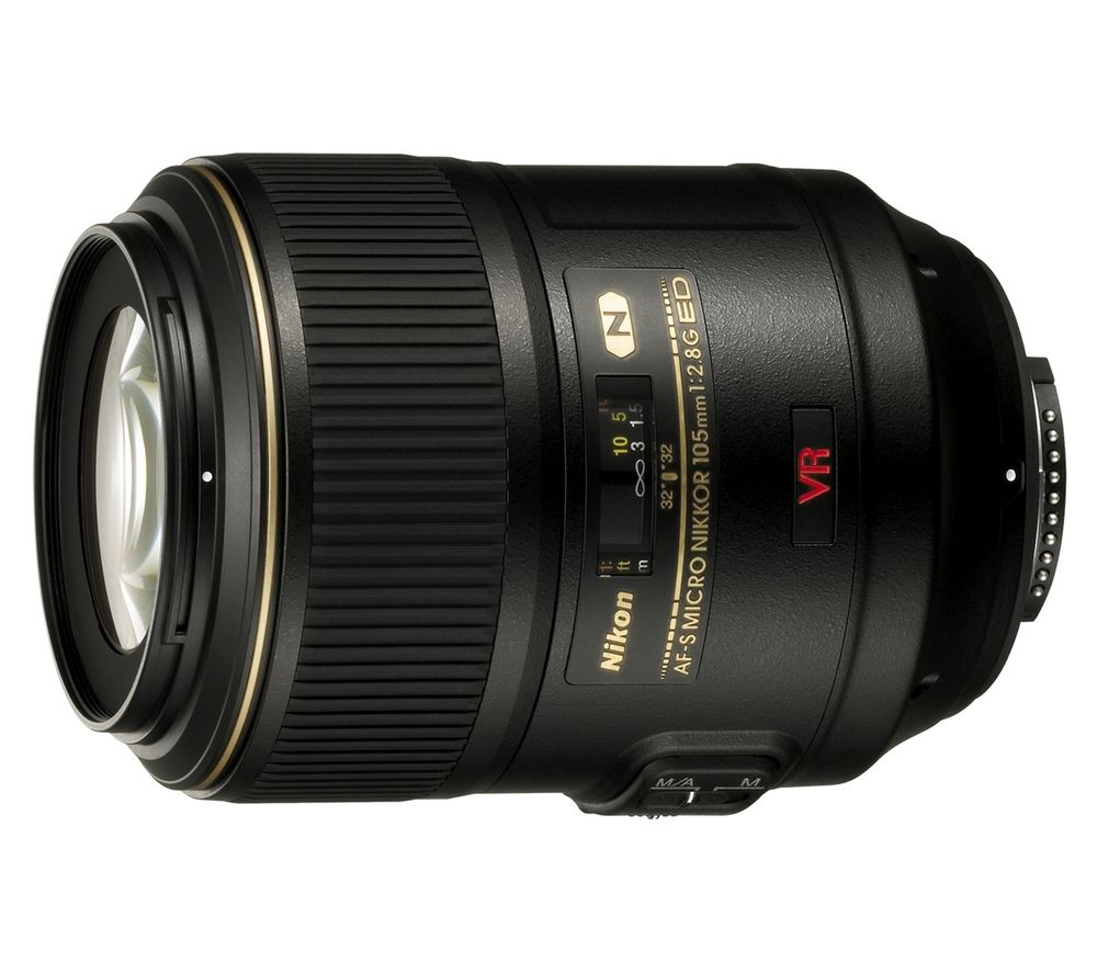 NIKON AF-S VR Micro-NIKKOR 105 mm f/2.8G IF-ED Macro Lens