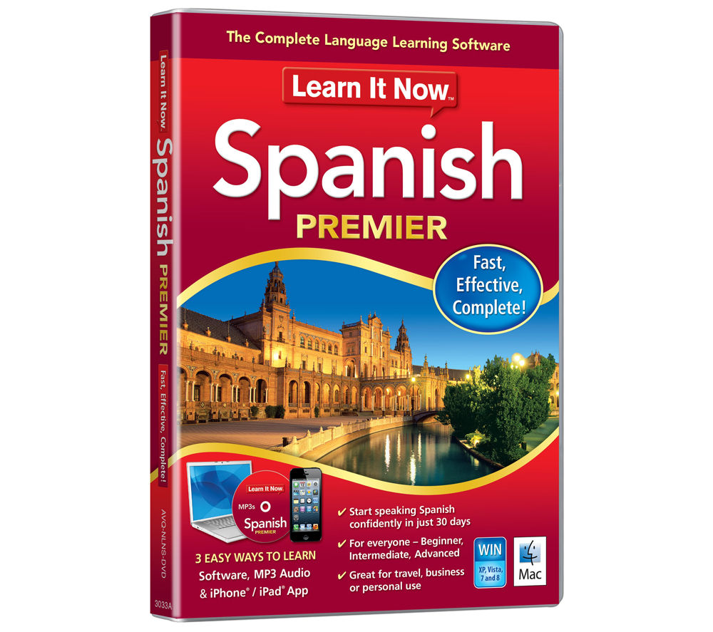 AVANQUEST Learn It Now - Spanish