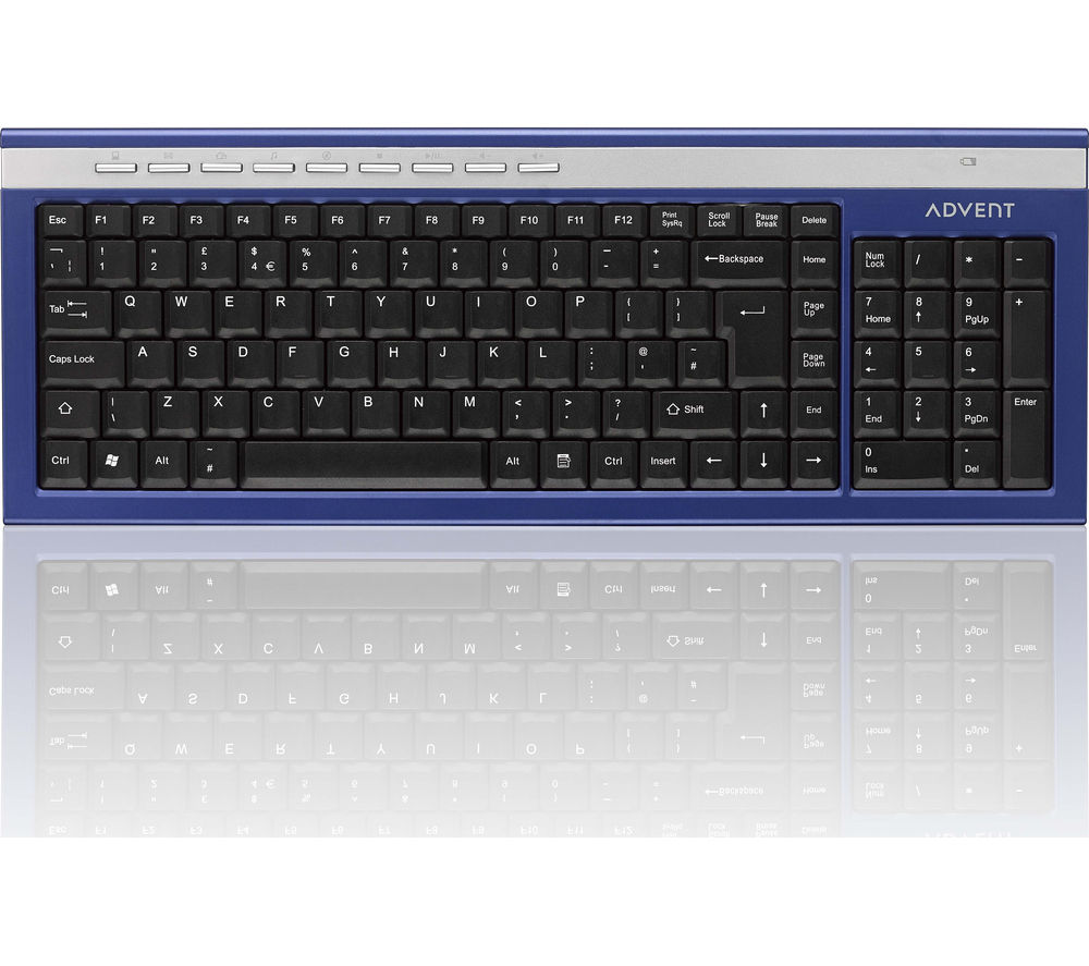 Compare prices for Advent AKBWLBL15 Wireless Keyboard