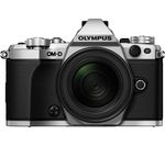 OLYMPUS OM-D E-M5 Mark II Mirrorless Camera with 12-50 mm f/3.5-6.3 Lens - Silver