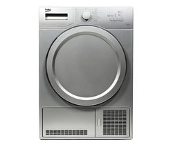 BEKO DCX71100S Condenser Tumble Dryer - Silver