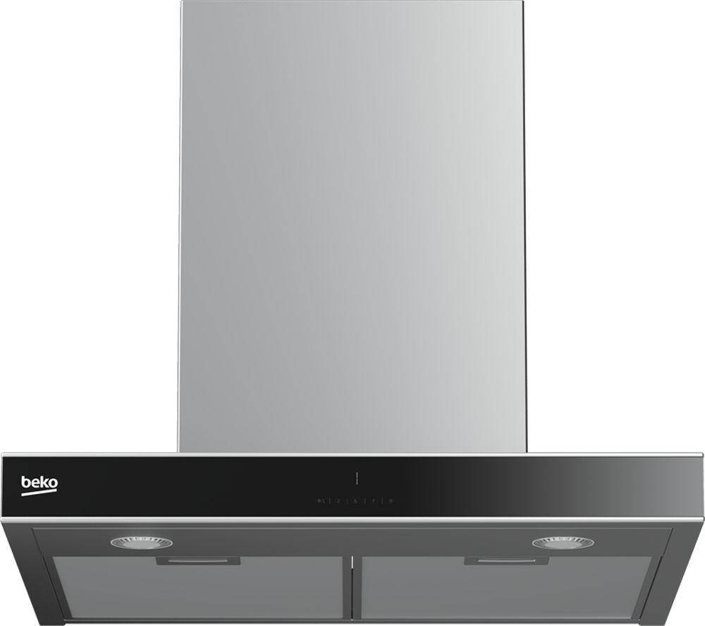 BEKO Select HCB63744BX Chimney Cooker Hood - Stainless Steel