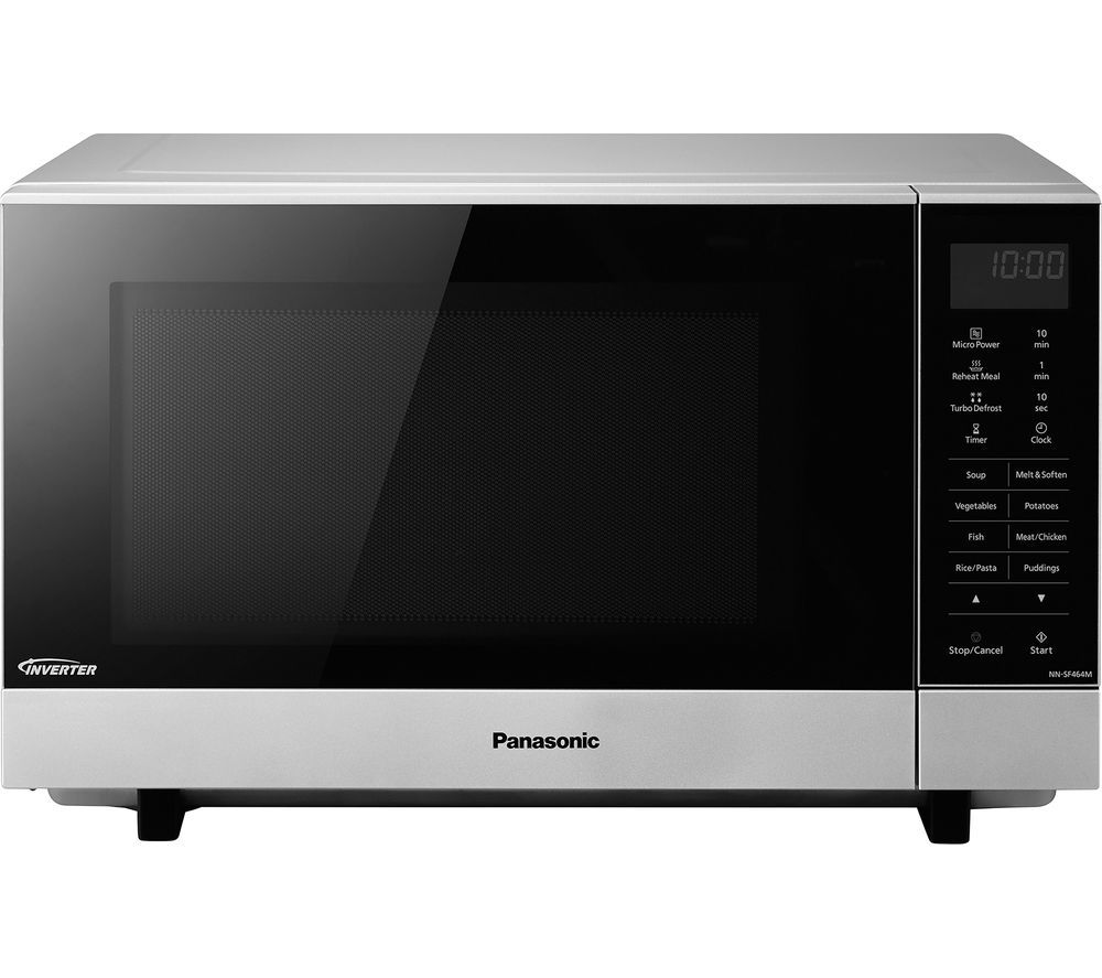 Panasonic NN-SF464M Flatbed Microwave - Stainless Steel