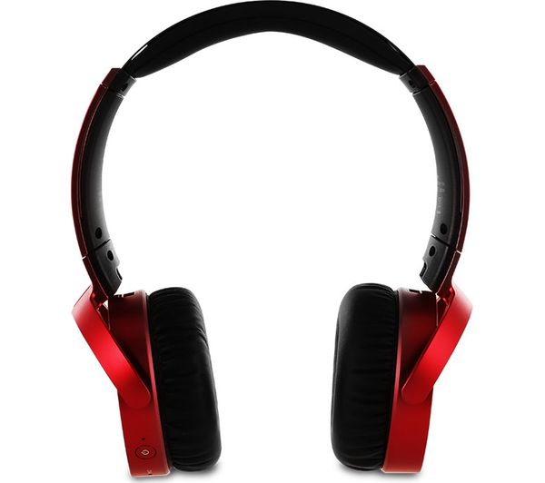 cc833b2bf6c SONY MDR-XB650BTR EXTRA BASS Wireless Bluetooth Headphones - Red