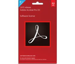 ADOBE Acrobat 15 Pro DC Mac - 1 user, Perpetual