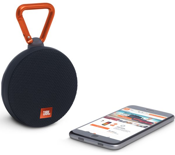 jbl bluetooth speaker clip. jbl clip 2 portable bluetooth wireless speaker - black jbl