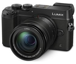 PANASONIC DMC-GX8MEB-K Mirrorless Camera with 12-60 mm f/3.5-5.6 Lens - Black