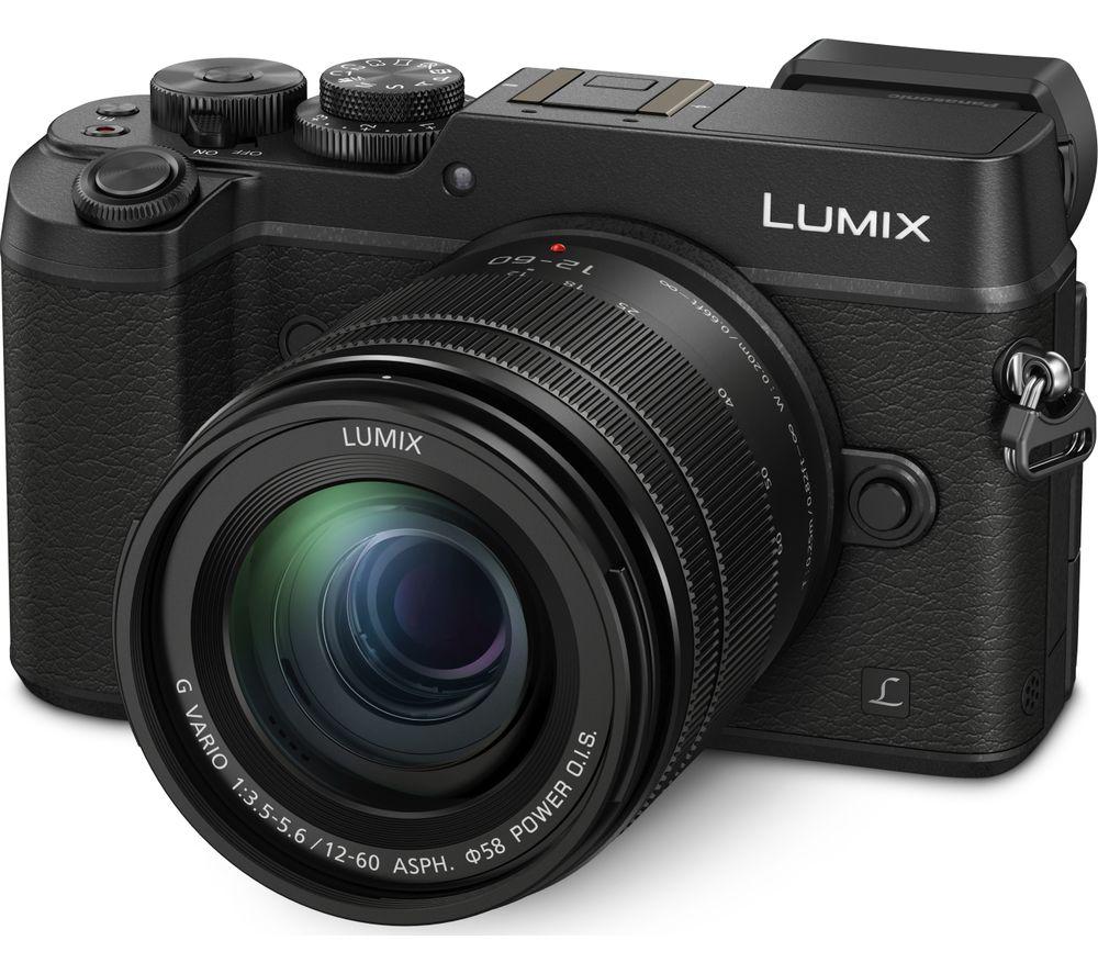 PANASONIC DMC-GX8MEB-K Mirrorless Camera with 12-60 mm f/3.5-5.6 Lens - Black