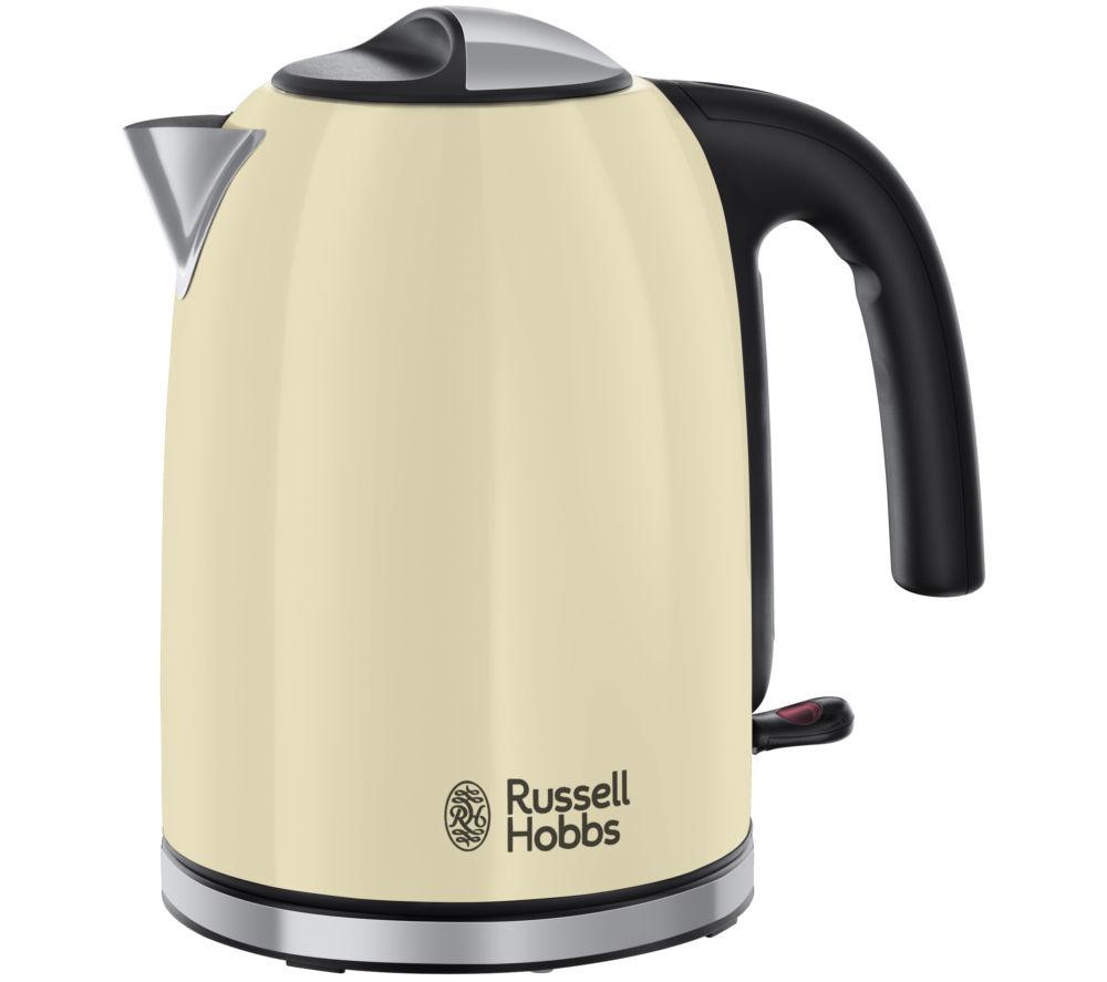 RUSSELL HOBBS Colour Plus 20415 Jug Kettle - Cream