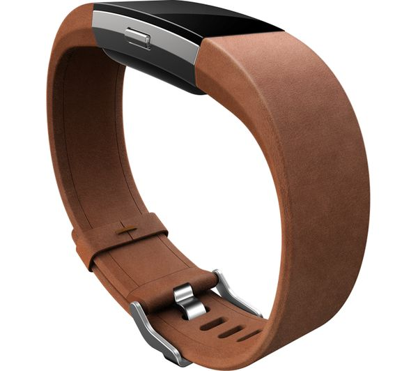 buy fitbit charge 2 classic accessory band brown leather. Black Bedroom Furniture Sets. Home Design Ideas