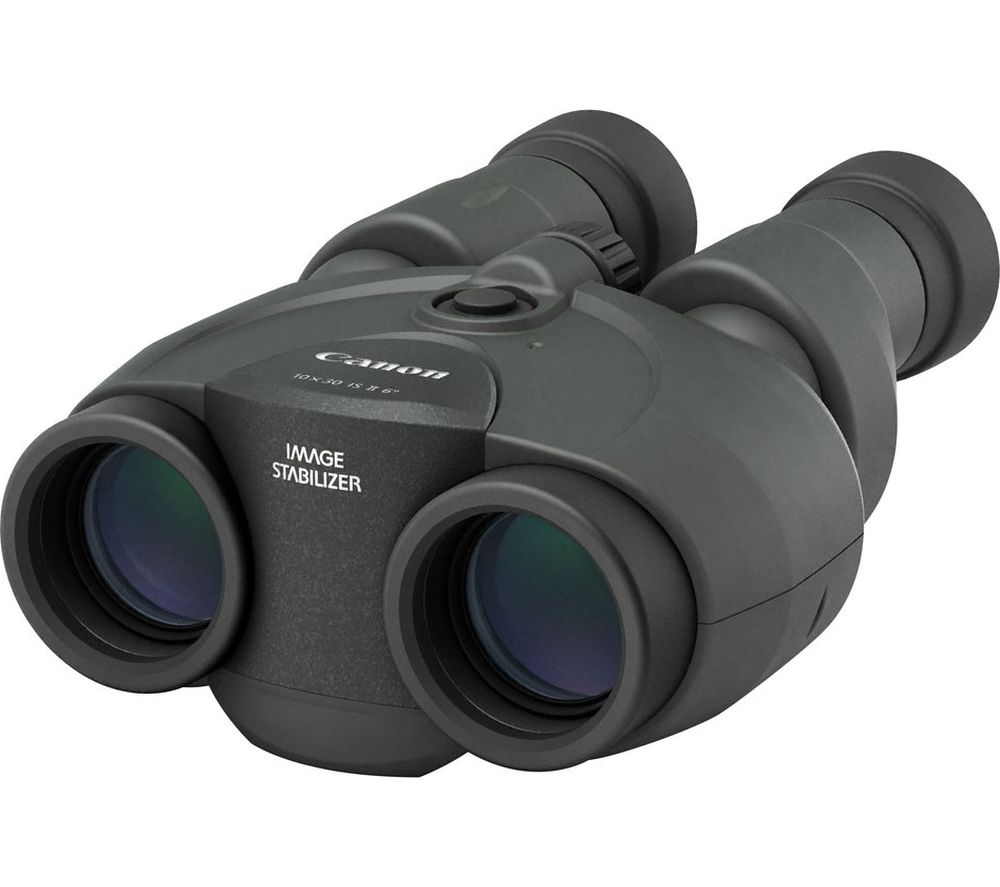 CANON 10 x 30 mm IS II Binoculars - Black