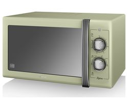 SWAN Retro SM22070GN Solo Microwave - Green Best Price, Cheapest Prices