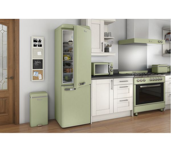 Swan Retro Sm22070gn Solo Microwave Green