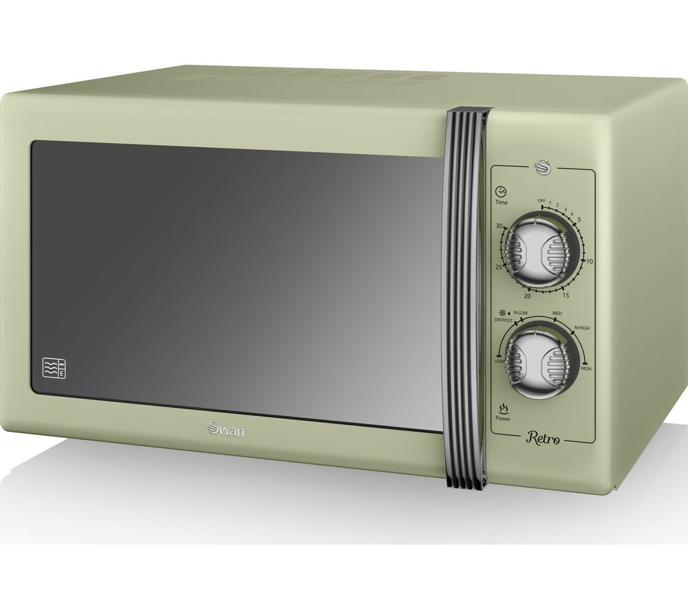 SWAN Retro SM22070GN Solo Microwave - Green
