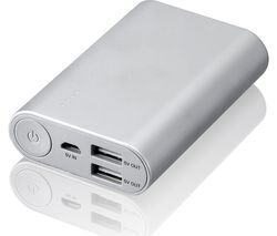 GOJI G10PBSL17 Portable Power Bank - Silver