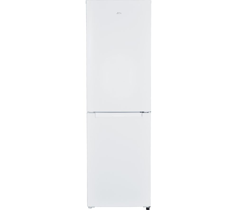 LOGIK LFF55W17 60/40 Fridge Freezer - White