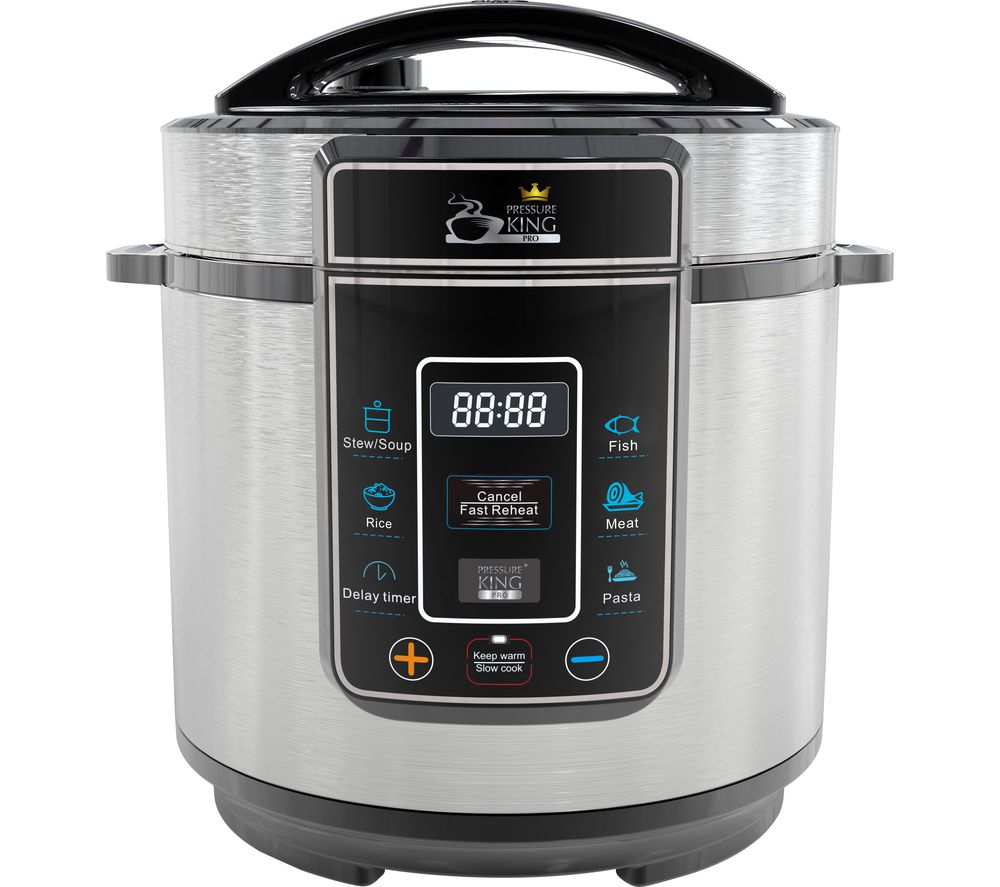 PRESSURE KING Pro Digital Multicooker - Chrome