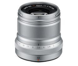 FUJIFILM Fujinon XF 50 mm f/2 WR Standard Prime Lens