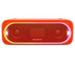 SONY SRS-XB30 Portable Bluetooth Wireless Speaker - Red
