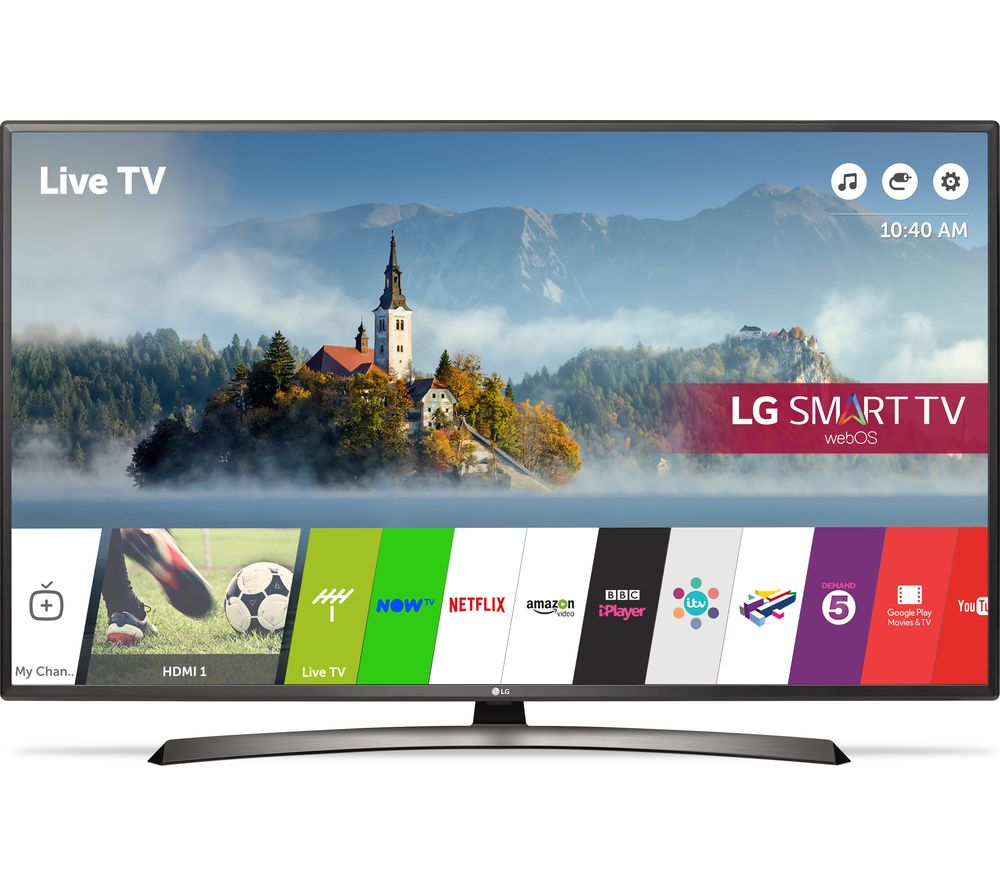 "LG 49LJ624V 49"" Smart LED TV"