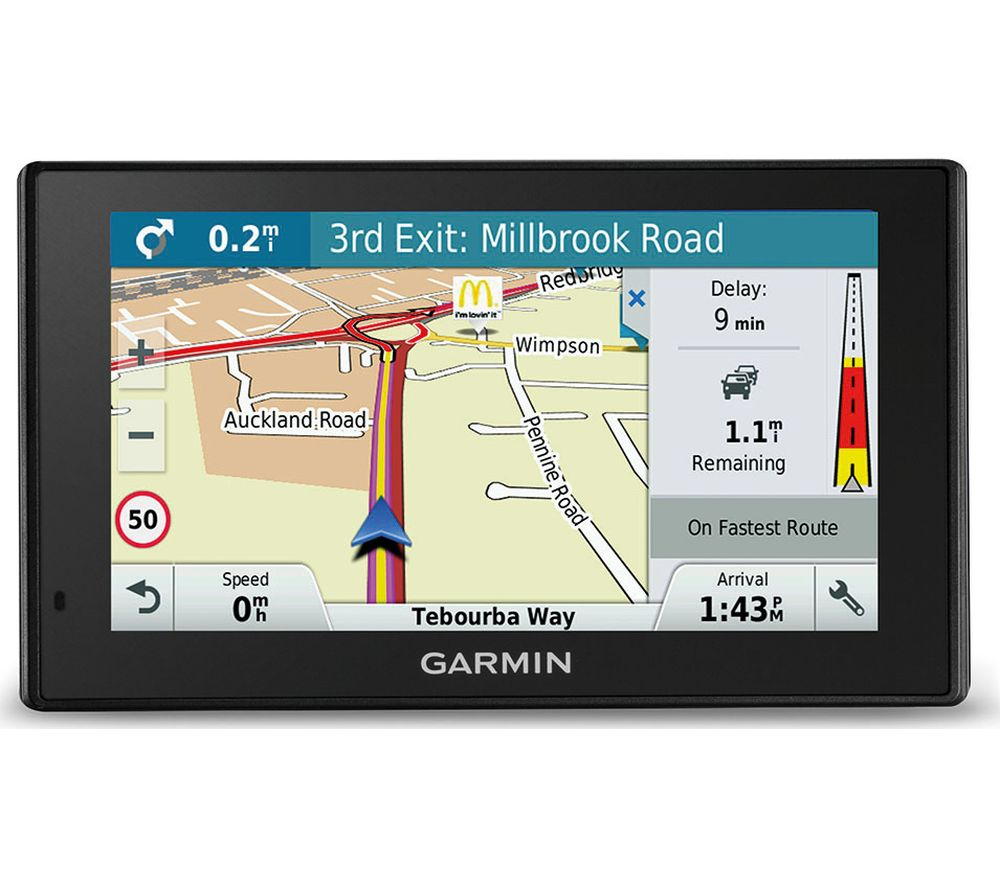 u_10162514 Sat Nav With Uk And Usa Maps on