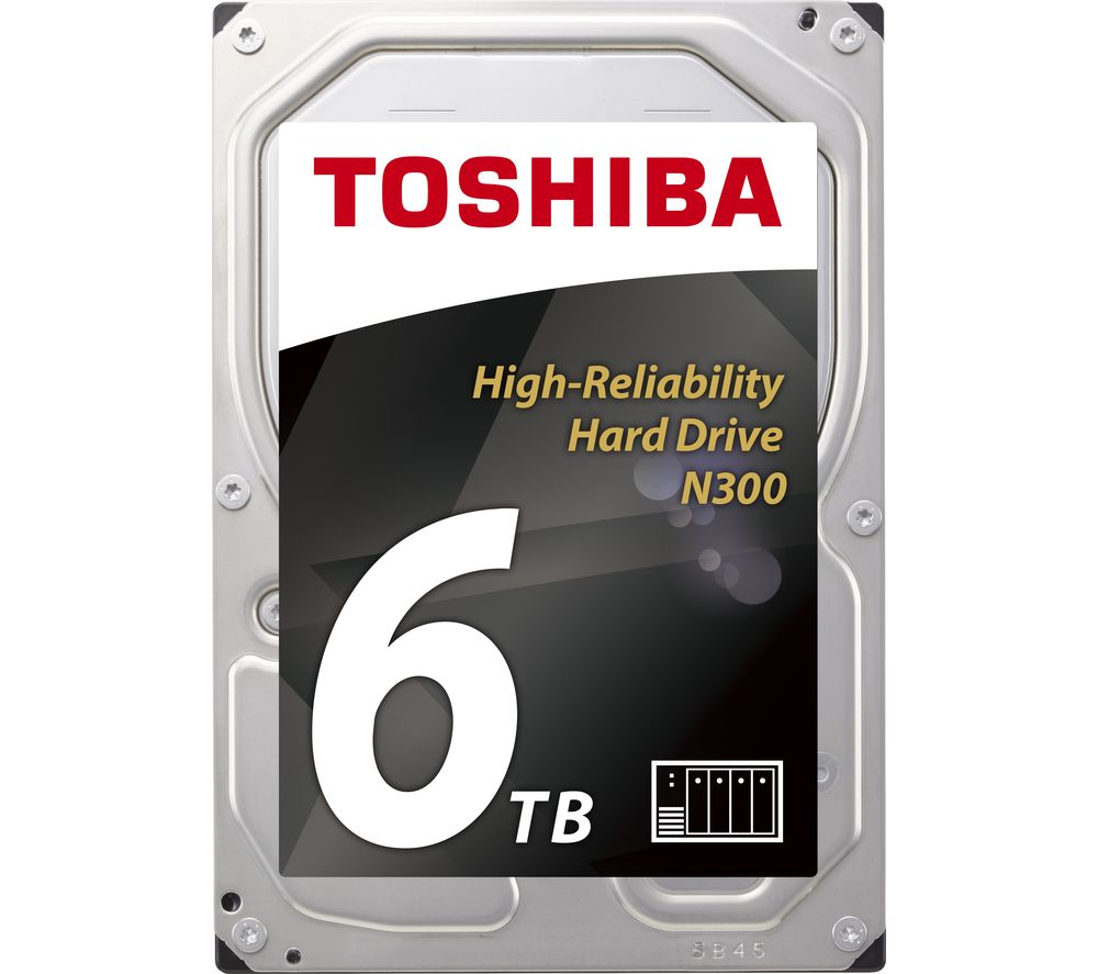 "TOSHIBA N300 3.5"" Internal Hard Drive - 6 TB"