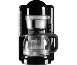 KITCHENAID 5KCM1204BOB Filter Coffee Machine - Onyx Black