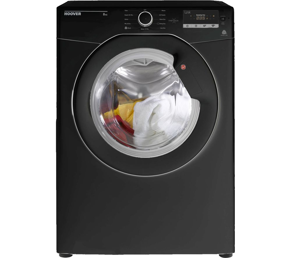 Compare retail prices of Hoover HL V8DGB Vented NFC 8 kg Tumble Dryer to get the best deal online