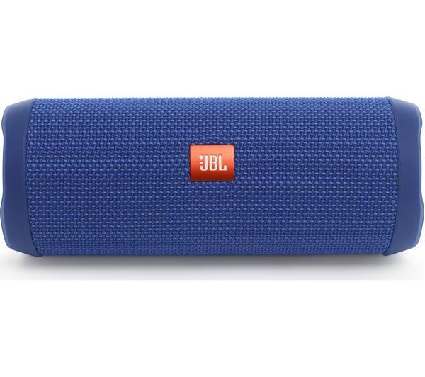 buy jbl flip 4 portable bluetooth wireless speaker blue. Black Bedroom Furniture Sets. Home Design Ideas