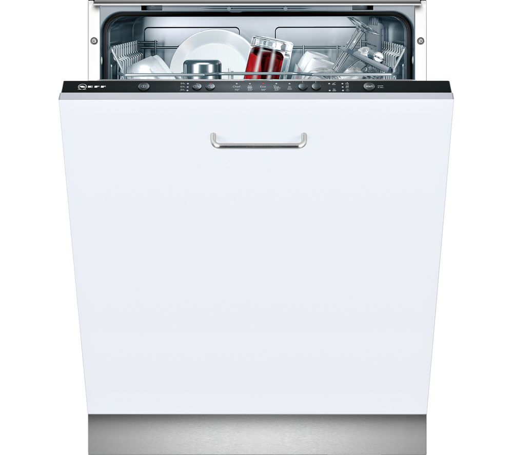 NEFF S511A50X1G Full-size Integrated Dishwasher