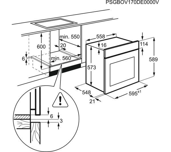 Buy Zanussi Zop37972bk Electric Oven
