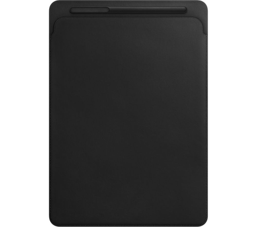 "APPLE 12.9"" iPad Pro Leather Sleeve - Black"