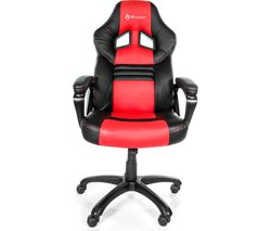 Monza Gaming Chair - Red & Black