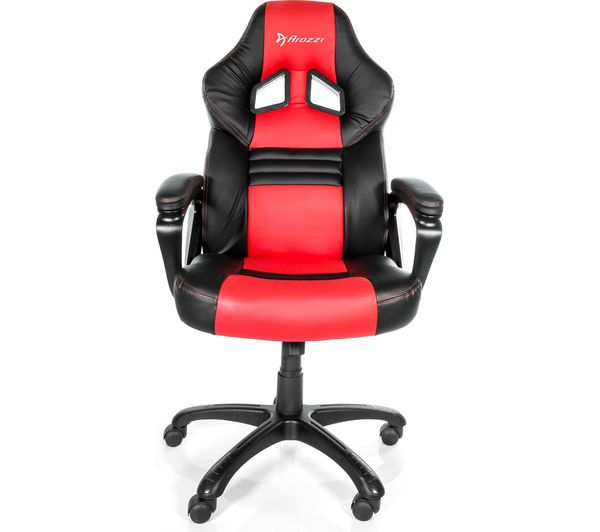Image of AROZZI Monza Gaming Chair - Red & Black